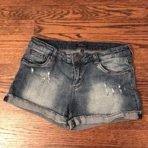 STS Blue Nordstrom denim shorts cutoff sz 4 6 28
